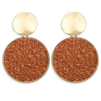 Geometric Shell Earrings For Women Earrings Jewelry Women Jewelry Metal Color: CS566070