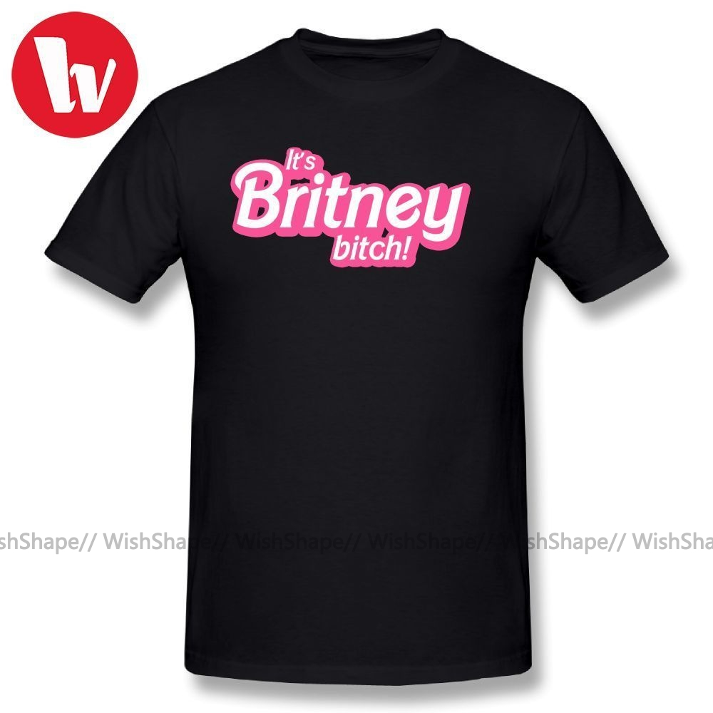 Britney Spears T Shirt It's Britney, Bitch! 100 Cotton T-Shirt Plus Size Awesome Summer Mens Short Sleeve Casual Tee Shirt 2018