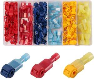 Pneumatic plugs 120 POWER T-Tap cable connectors Self-insulating Quick Connector cable