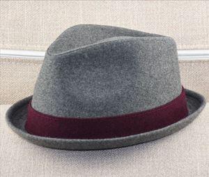 Image 3 - Big Head Men Large Size Fedora Hats Dad Winter Party Formal Jazz Hat Male Plus Size Wool Felt Hat 57 58cm 59 60cm 60 62cm