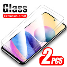 """2pcs Protective Glass For Xiaomi Redmi Note 10 5G Screen Protector Xiomi Redme Nota Not 10 Note10 6.5"""" Tempered Glass Cover Film"""