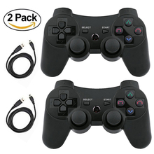 K ISHAKO For PS3 Ergonomic Gamepad Wireless Bluetooth Controller For sony playstation 3 Controle Joystick Game Pad Remote original 3 colorful wireless bluetooth game controller for sony playstation 3 for ps3 controle joystick gamepad christmas