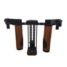 CAMVATE aparejo de jaula para Monitor de Director de cámara, con empuñaduras y correa para el cuello, D1946