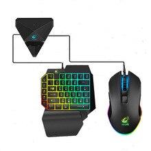 Convertidor de teclado y ratón Bluetooth para jugar a PUBG, soporte para teléfono móvil