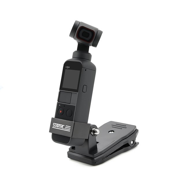Sac à dos/sac pince pince pour DJI Osmo poche cardan fixe adaptateur monture pour Osmo poche Action caméra sac à dos support accessoires