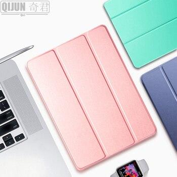 """Caso de la tableta para Apple ipad 10,2 """"2020"""" de cuero sueño triple soporte sólido cove bolsa para ipad8 L A2270 A2428 A2429 A2430"""