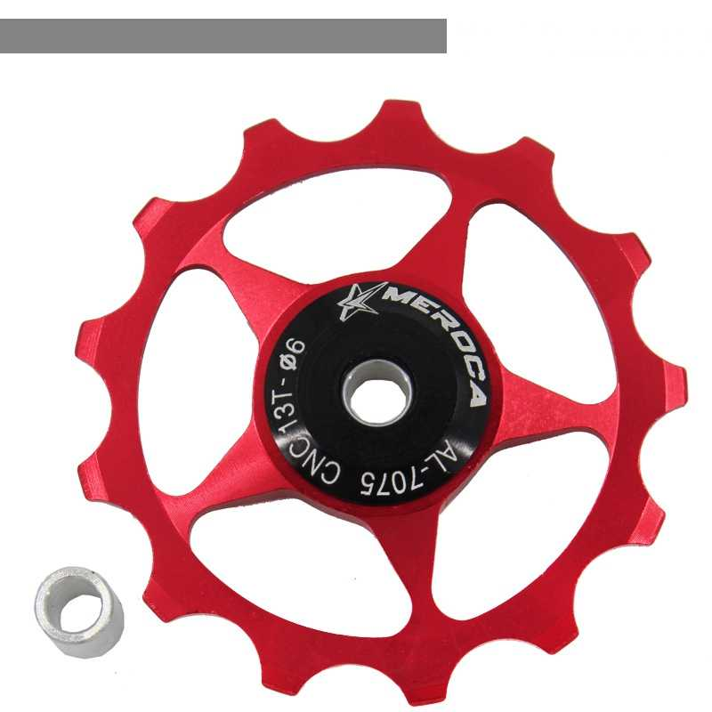 Ceramic Bearing 13T Rear Derailleur Guide Roller Parts for Mountain Bicycle Road
