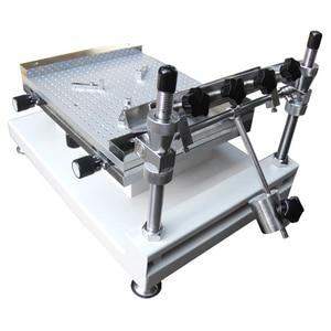 Image 4 - Producción SMT YX3040 PCB SMT plantilla impresora SMT serigrafía (300*400mm)