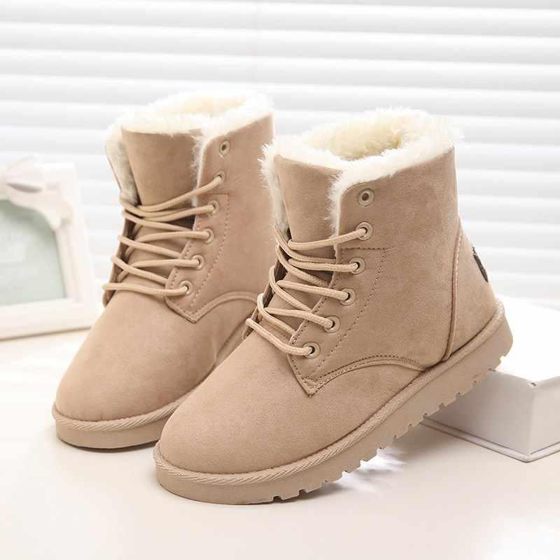 Kadın botları 2019 kış kar botları bayan botları Duantong sıcak kadınlar için düz ayakkabı ile gelgit ayakkabı F031 sıcak satış 4 -9