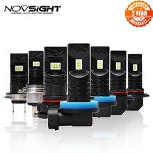 2Pcs 1600Lm H11 H8 Led H7 Auto Verlichting Led Lampen 9005 HB3 9006 HB4 H1 H3 H10 H16EU Wit mistlampen 6500K 12V Rijden Lamp