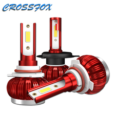 K1 LED H4 H1 H7 H8 H9 H11 9005 HB3 9006 HB4 Auto COB LED Scheinwerfer Auto Lampe Scheinwerfer Birne 36W 6000K 8000LM Auto Licht