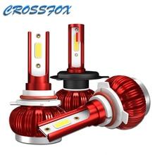 K1 LED H4 H1 H7 H8 H9 H11 9005 HB3 9006 HB4 Car COB LED faro lampada automatica fari lampadina 36W 6000K 8000LM luce Auto