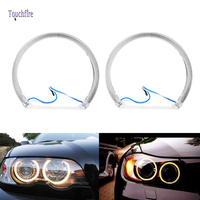 2pcs 60cm 70cm 80cm White Halo Cotton Light car smd Ring Lights Led Angel eyes for BMW E46 non projector auto lighting