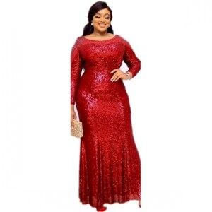 Image 2 - Abiti africani Per Le Donne Abbigliamento Africa Musulmano Vestito Lungo di Alta Qualità di Modo di Lunghezza del Vestito Da Africano Per La Signora