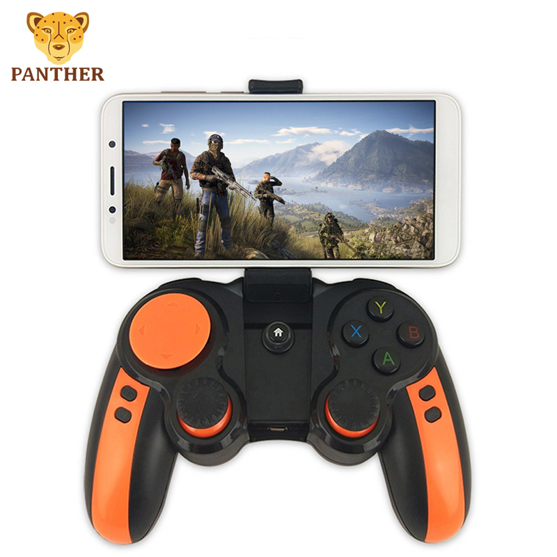 2-in-1 Gamepad Bluetooth <font><b>Wireless</b></font> Game <font><b>Controller</b></font> with Holder 10hours working time For Android Mobile Phones <font><b>PC</b></font> Game Handle image