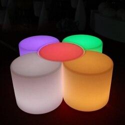 50 سنتيمتر Led مصباح مضيء بار البراز اللون للتغيير البلاستيك PE كرسي SK-LF35J من Skybess المصنع مباشرة شحن مجاني 1 قطعة