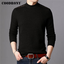 COODRONY Brand 100% Merino Wool Sweater Men Casual O-Neck Pull Homme Winter Thick Warm Pullover Men Soft Cashmere Sweaters 93050 coodrony brand pure merino wool sweater men autumn winter thick warm soft cashmere pullover men fashion o neck pull homme 93021