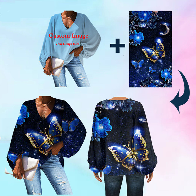 WHEREISART Nightmare before Christmas Women Deep V-neck Shirts 2020 Plus Size Ladies Tops Blouse Halloween Design Fashion Blouse 5