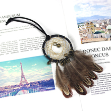 Dream Catcher Vintage Indian Dreamcatcher Feather Ornaments Sweater Hangers Handicrafts Catchers Feathers For