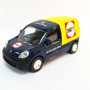 1:64 Scale Renault Mini Van Alloy car Diecast Metal Model Car For Collection Friend Children Gift(China)