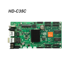 Huidu HD-C35 HD-C35C Asynchronous rgb led video display board large full color control card HD-R501 receiving