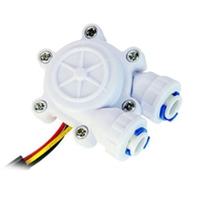 Flow Sensor Control Meter Flowmeter Counter 0.2-8L/min Water Flow Sensor Switch 6XDD