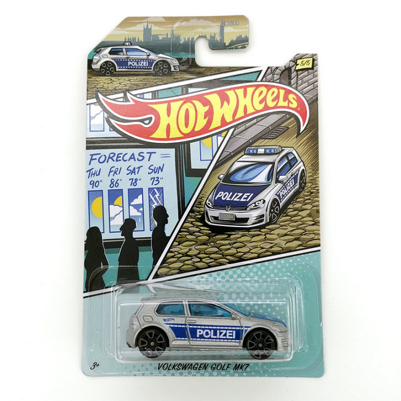 Hot Wheels Car 1:64 VOLKSWAGEN GOLF MK7 Collector Edition Metal Diecast Cars Collection Kids Toys Vehicle For Christmas Gift