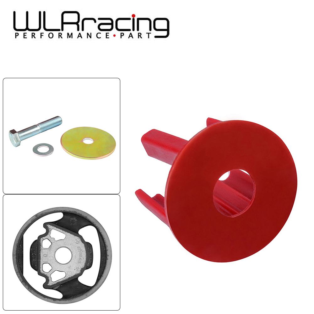 WLR - Red Engine Torque Arm Insert Dog Bone Mount Kit For VW Golf GTI Rabbit Passat Tiguan EOS Audi A3 Q3 2 0TSI WLR-EMI01