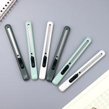 JIANWU 1 шт. простой портативный художественный нож милый моделирующий нож для резки бумаги Универсальный мини-нож Канцелярские товары