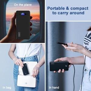 Image 5 - INIU 3A 10000mAh LED güç bankası çift USB taşınabilir şarj edici güç bankası harici telefon pil paketi için iPhone Xiao mi mi samsung