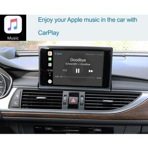 Image 4 - واجهة Apple CarPlay اللاسلكية لأودي A6 ، A7 ، 2012 2018 ، مع وظيفة HDMI ، رابط المرآة ، AirPlay ، Android ، للسيارة