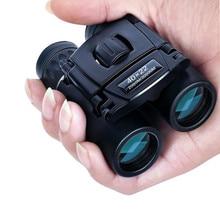 40x22 HD 강력한 쌍안경 2000M 장거리 접이식 미니 망원경 BAK4 FMC 광학 사냥 스포츠 야외 캠핑 여행