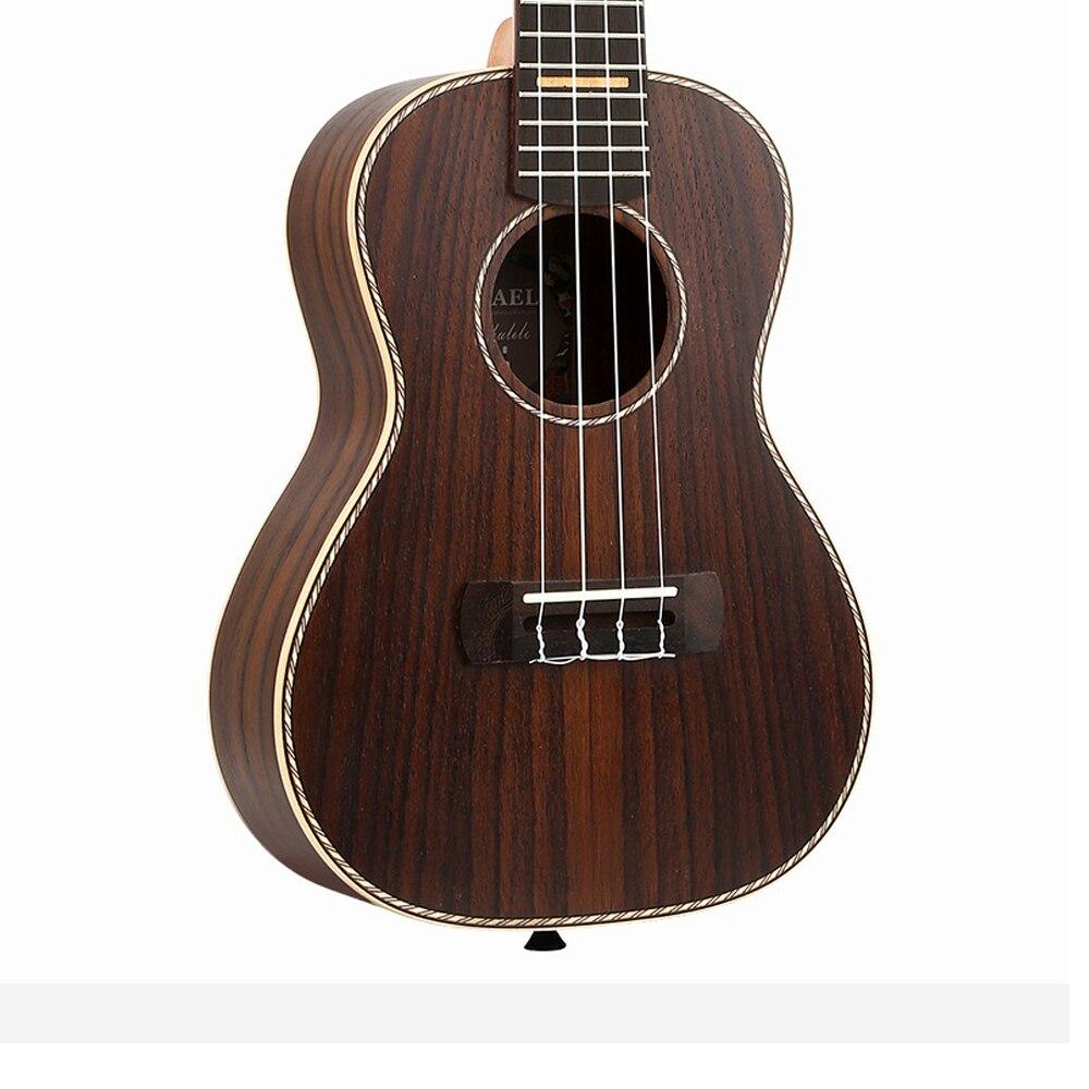 Haute qualité 23 pouces Concert ukulélé 4 AQUILA cordes hawaïen Mini pleine guitare en palissandre Uku guitare acoustique Ukelele UK2313 - 3