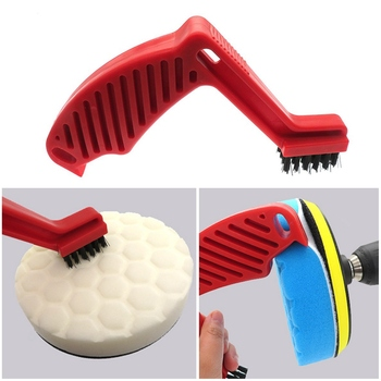 Plastic Car Buffing Brushes Pads Auto Polishing Cleaning Tools Auto Vehicle Polishing Waxing Cleaning Brush Car Washing Tool kkmoon auto vehicle switches