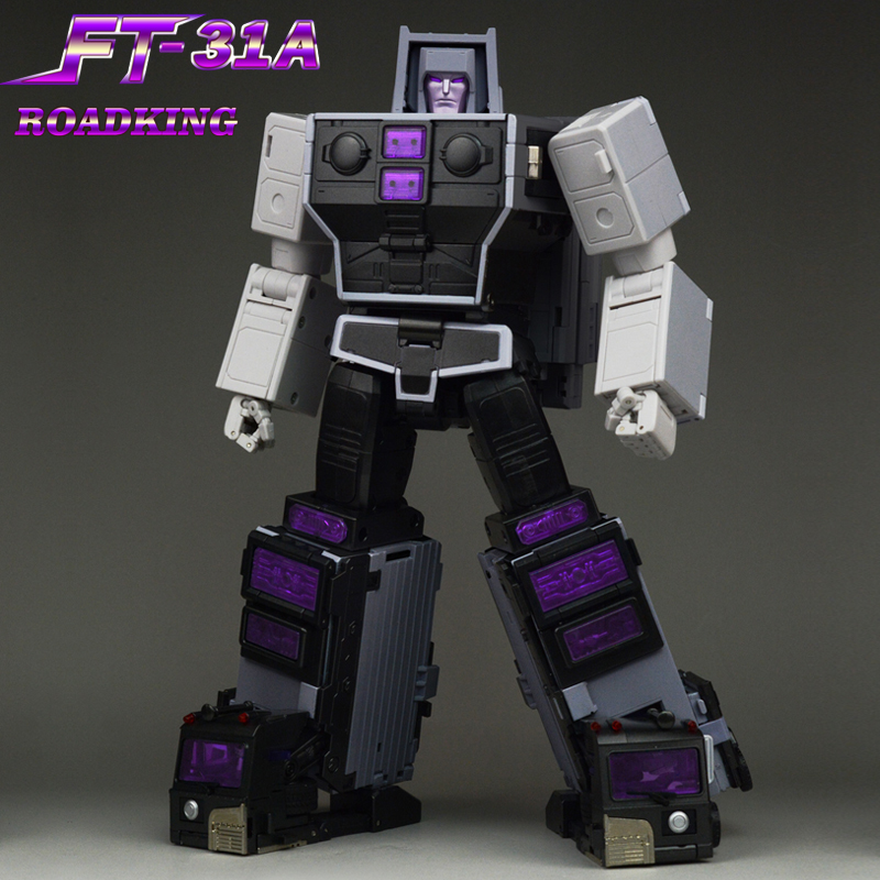 Image 3 - Fans Toys Transformation Toy Masterpiece FT 31A FT31A Roadking aka MP Motormaster MISB Action Figure Robots Collection DeformedAction & Toy Figures   -