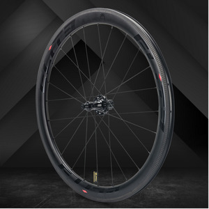 Elite SLR Carbon Road Bike Wheel Straight Pull Low Resistance Ceramic Hub 25/27mm Wider Tubular Clincher Tubeless 700c Wheelset(China)