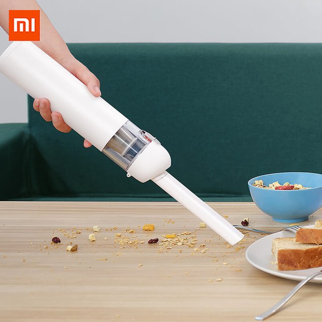 Xiaomi Mijia Handheld Vacuum Cleaner Portable Handy Car Home 120W 13000Pa Super Strong Suction Wireless Mini Dust Vacuum Cleaner
