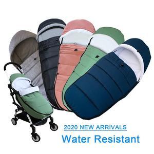 Image 1 - Evrensel bebek arabası aksesuarları su geçirmez Sleepsacks uyku tulumu sıcak ayak çorap Babyzen YOYO 2 YOYO2 arabası