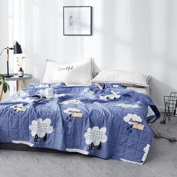 Детское маленькое летнее одеяло, прохладное однолетнее тонкое одеяло для дома и детей 2 м с кондиционером