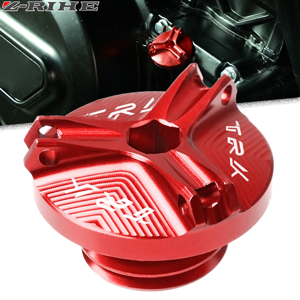 For Benelli TRK 502 Motorcycle accessories CNC Aluminum Engine Magnetic Oil Drain Plug cover TRK502 TRK502X
