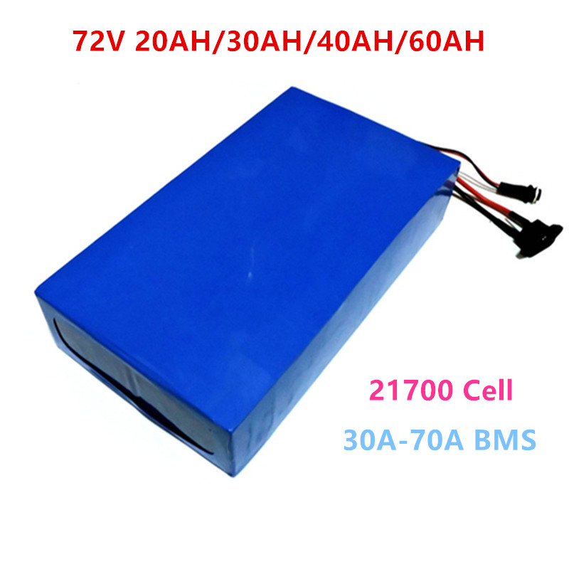 <font><b>72V</b></font> 20Ah 30Ah 40Ah <font><b>60ah</b></font> Ebike <font><b>Battery</b></font> pack <font><b>72v</b></font> Electric Bike Lithium <font><b>Battery</b></font> for <font><b>72V</b></font> 2000W 3000W 4000W Motor + 5A charger image
