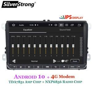 Image 3 - SilverStrong Android10.0 Modem IPS 4G samochód 2Din Radio GPS dla volkswagena Tiguan Golf MK6 MK5 opcjonalnie DSP TPMS DVR
