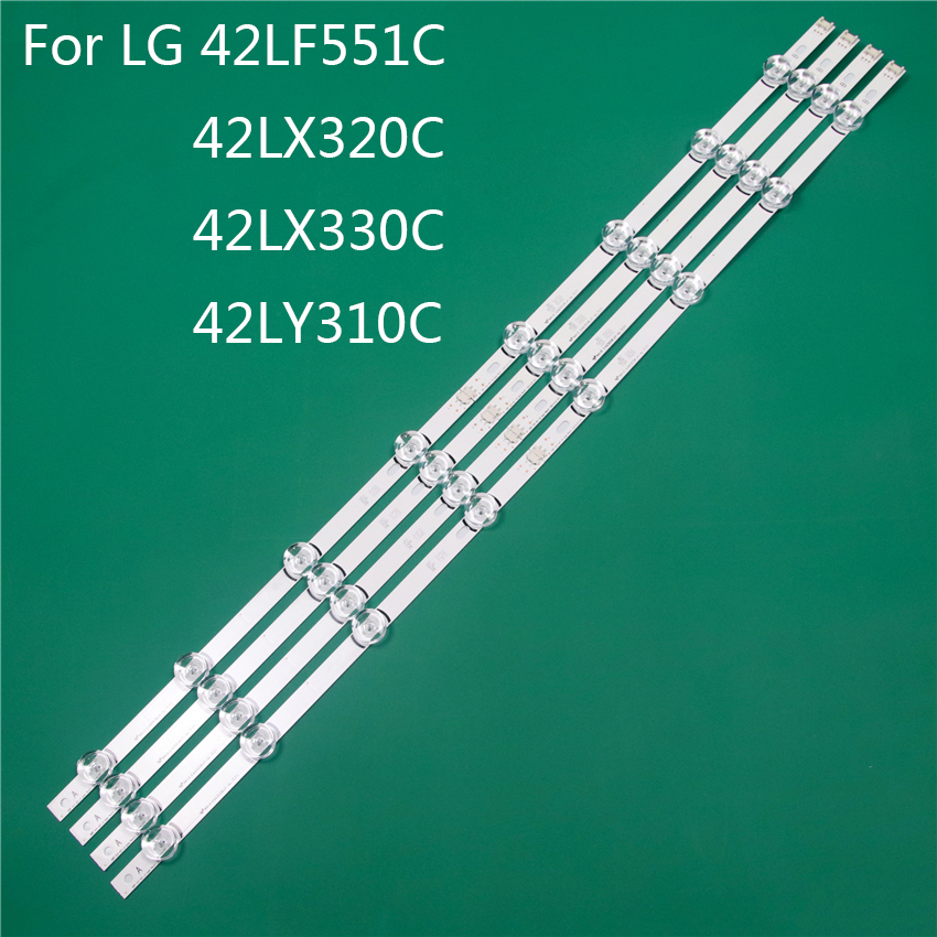 LED TV Illumination Part Replacement For LG 42LF551C 42LX320C 42LX330C 42LY310C LED Bar Backlight Strip Line Ruler DRT3.0 42 A B