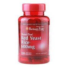 Levadura de Arroz roja, 600 mg, 120 Uds., envío gratis