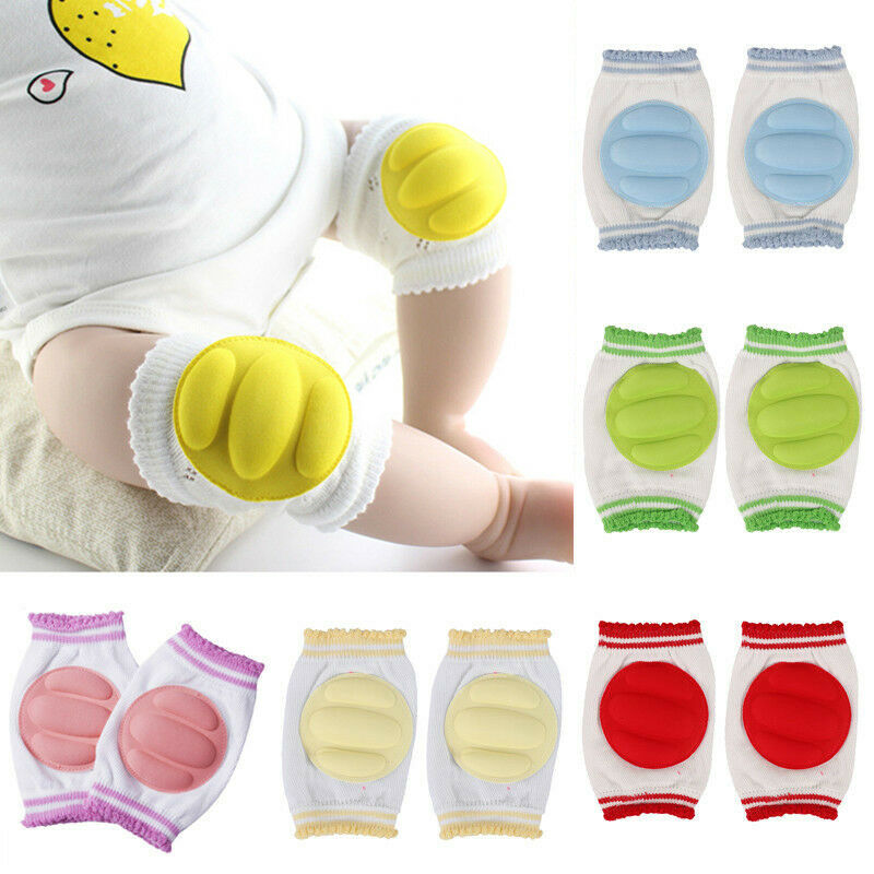 Warm Baby Knee Pads Protector Baby Accessories Spring Summer Children Anti-Slip Protections Safety Crawling Elbow Cushion 0-24Y