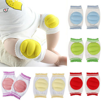 Warm Baby Knee Pads Protector Baby Accessories Spring Summer Children Anti-Slip Protections Safety Crawling Elbow Cushion 0-24Y triple 8 ep 55 elbow pads skate safety pads black jr xs