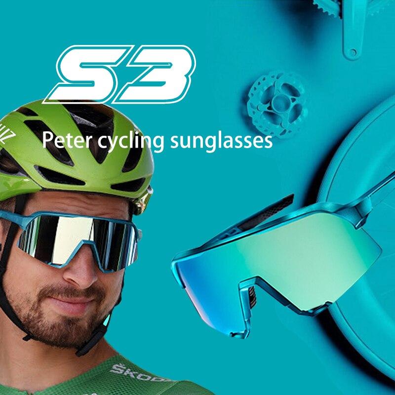 S3 กีฬาขี่จักรยานแว่นตากีฬากลางแจ้งแว่นตากันแดดPeterจักรยานแว่นตาSpeedcraft MountainจักรยานGafas Ciclismo
