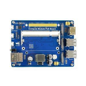 Image 3 - Compute Module IO Board with PoE Feature Composite Breakout Board for Raspberry Pi CM3/CM3L/CM3+/CM3+L