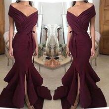 Простые бордовые пикантные платья подружек невесты рукав крылышко