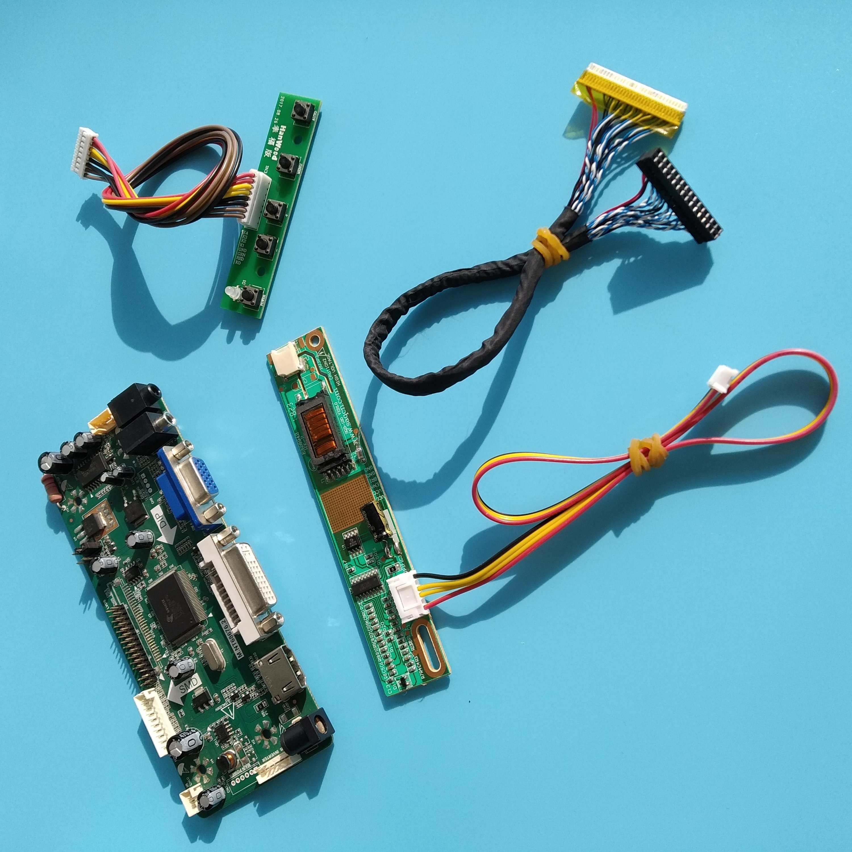 Где купить Для 30pin LP171WP4/LP171W01 (A4) плата контроллера 1440X900 Панель NT68676 HDMI + DVI + VGA ЖК-монитор